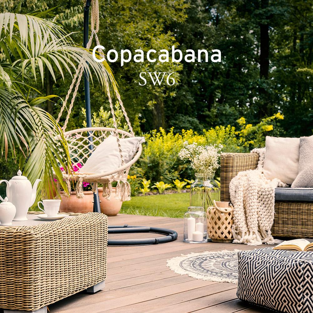Copacabana garden set-up