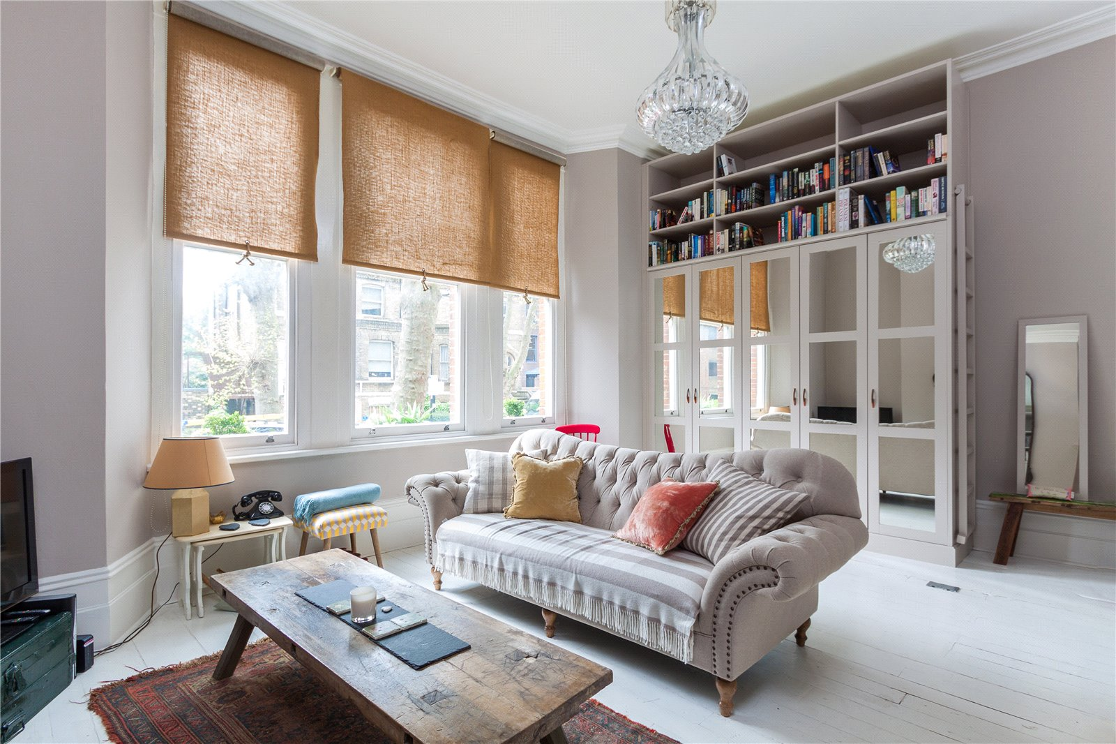 Apartment in Brook Green with no stamp duty