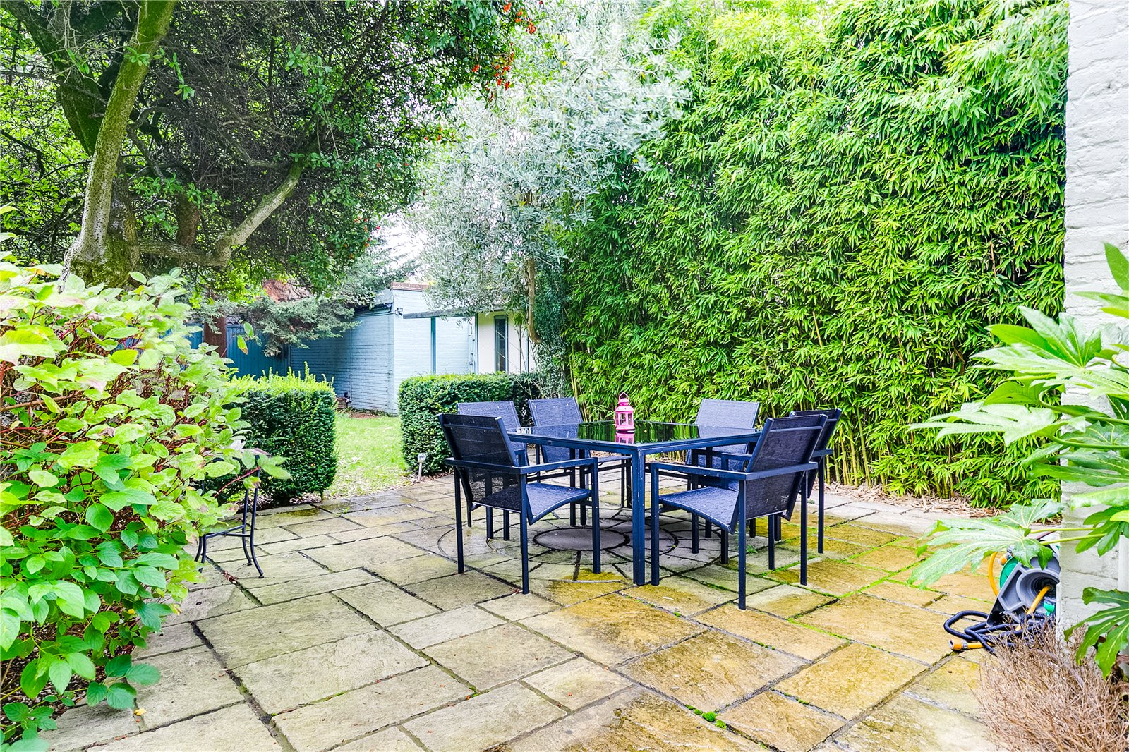 Outside space- garden with patio
