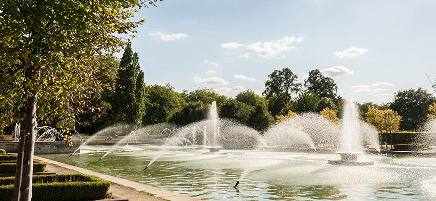 Fountain in Battersea