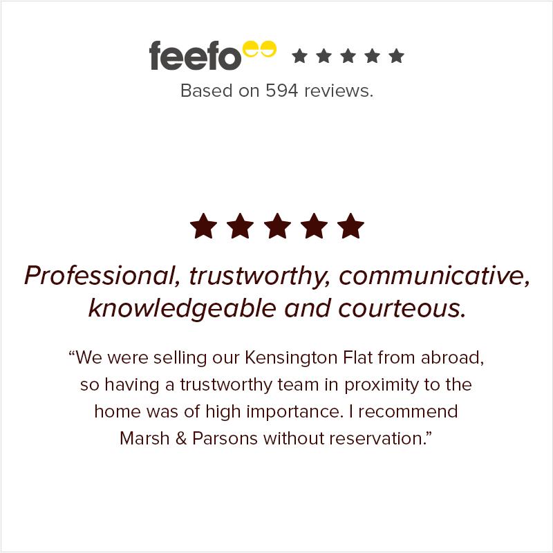 Kensington estate agents review - Marsh & Parsons